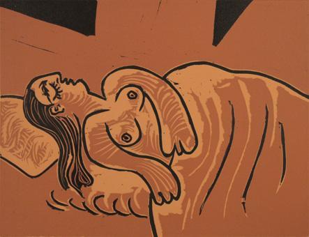 Pablo Picasso:Femme Endormie