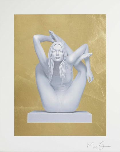Marc Quinn:Sphinx (Gold Leaf)