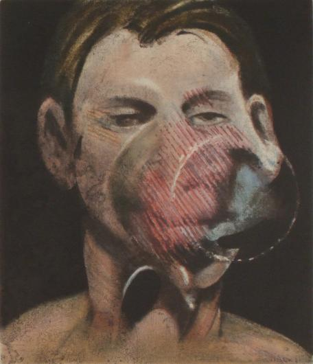 Francis Bacon:Portrait of Peter Beard