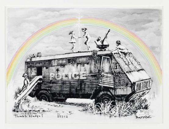 Banksy:Dismaland (Gifted print)