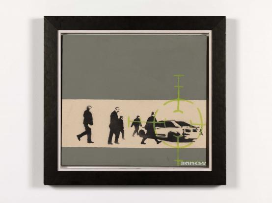 Banksy:Precision Bombing