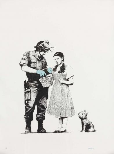 Banksy:Stop & Search