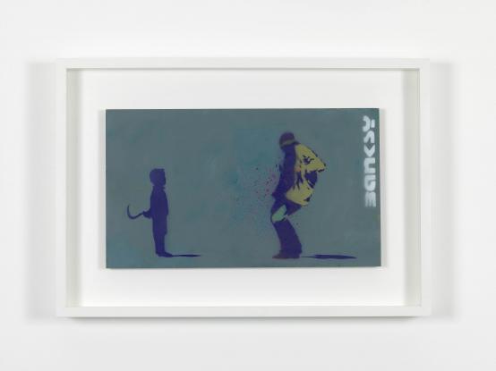Banksy:Sickled Kid