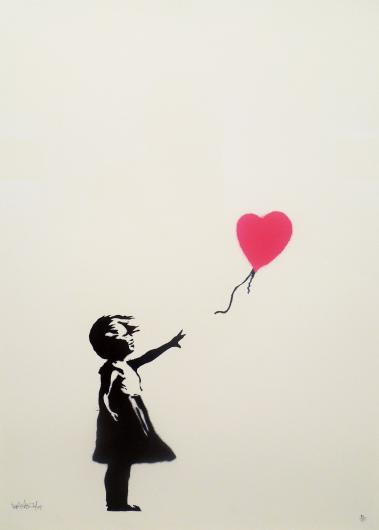 Banksy:Girl With Balloon Print