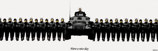 Banksy:Have A Nice Day