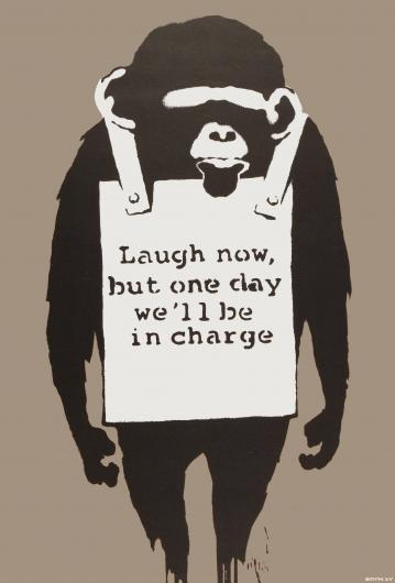 Banksy:Laugh Now