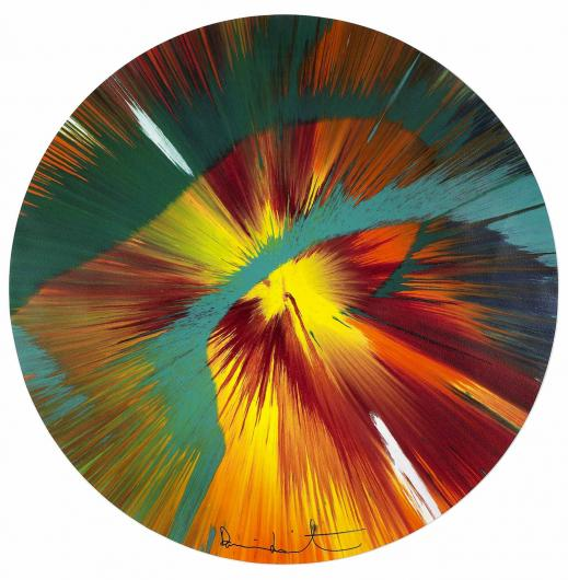 Damien Hirst:Beautiful Paper Spin for Situation Gigi