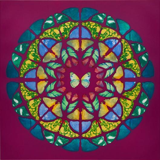 Damien Hirst:Sanctum (UP Purple)