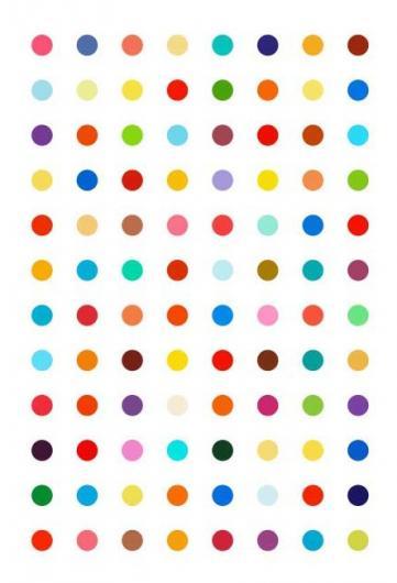 Damien Hirst:Xylene Cynol Dye Solution