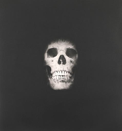 Damien Hirst:I Once Was What You Are, You Will Be What I Am (Skull 3)