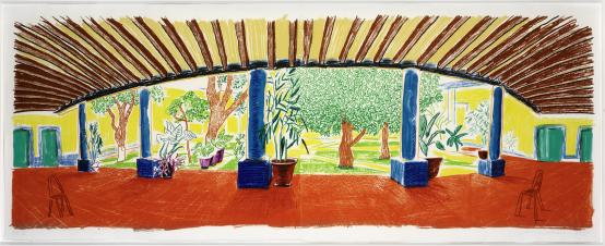 David Hockney:Hotel Acatlan First