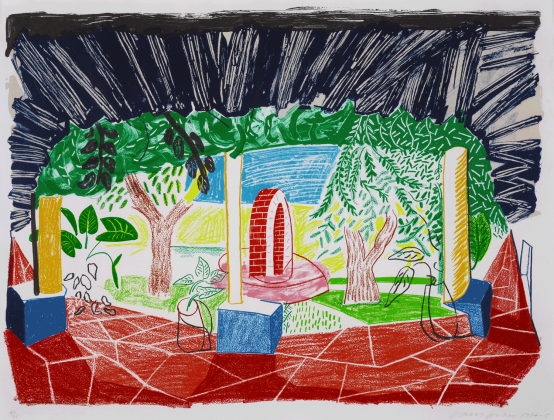 David Hockney:Views of Hotel Well I