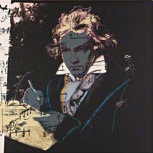 Andy Warhol:Beethoven, F & S II.393