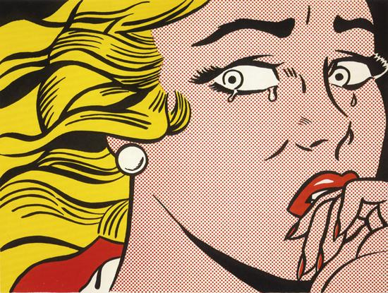 Roy Lichtenstein:Crying Girl