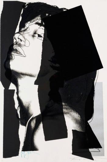 Andy Warhol:Mick Jagger, F & S II.144