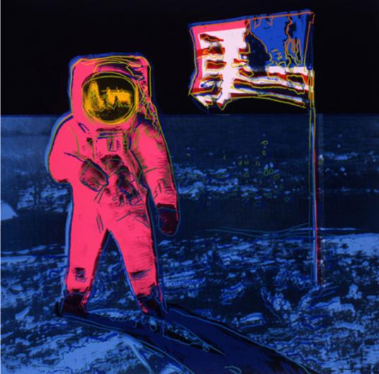 Andy Warhol:Moon Walk, F & S II.405