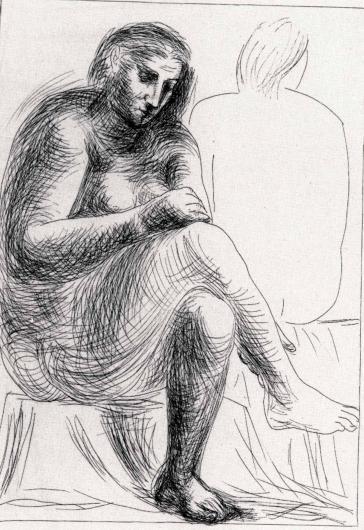 Pablo Picasso:Au Bain