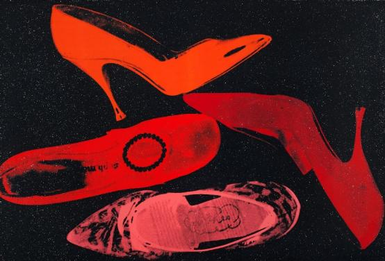 Andy Warhol:Shoes, F & S II.253