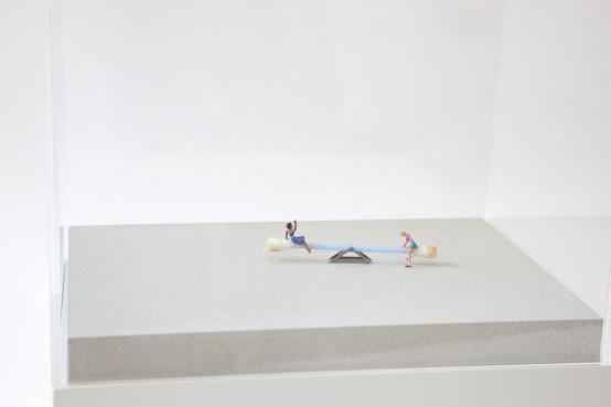 Slinkachu:Ups and Downs