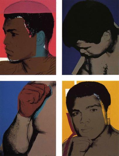 Andy Warhol:Muhammad Ali, F & S II.179-182