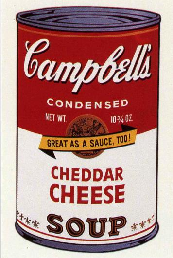 Andy Warhol:Campbell's Soup II, F & S II.63