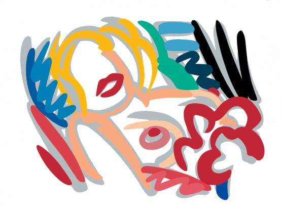 Tom Wesselmann:Big Blonde