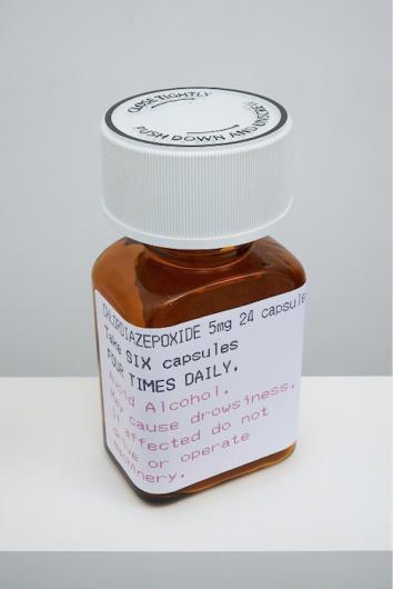 Damien Hirst:Chlordiazepoxide, 5mg 24 Capsules