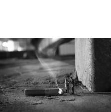 Slinkachu:Dying Embers