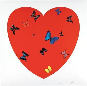 Damien Hirst:All You Need is Love, Love, Love