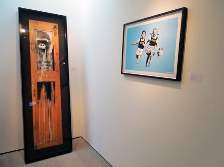 Banksy:Originals and Multiples