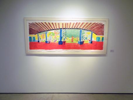 David Hockney:David Hockney   Hotel Acatlan