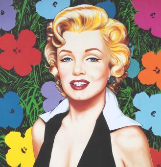 Antonio de Felipe:En el jardin de Hollywood Marylin Flowers