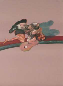 Francis Bacon:Triptych (In Memory of George Dyer) (Left Panel)