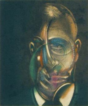 Francis Bacon:Portrait of Michael Leiris