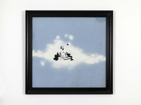 Banksy:Cloud DJ