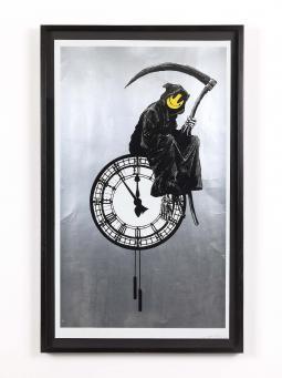 Banksy:Foil Grin Reaper