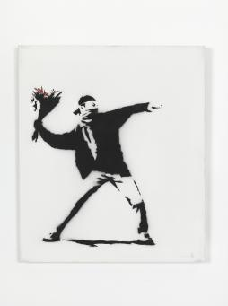 Banksy:Love is in the air