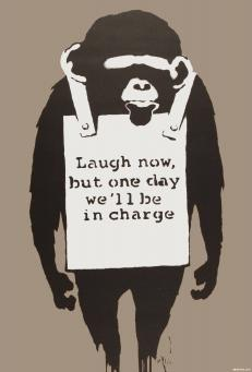 Banksy:Laugh Now