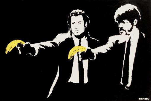 Banksy:Pulp Fiction