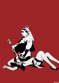 Banksy:Queen Vic