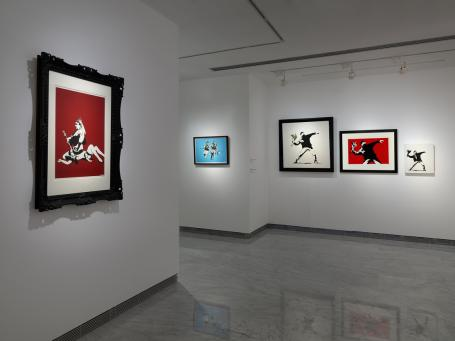 Banksy:Installation Picture 10
