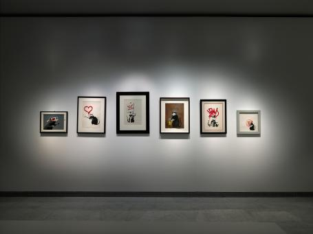 Banksy:Installation Picture 1