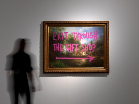 Banksy:Installation Picture 4