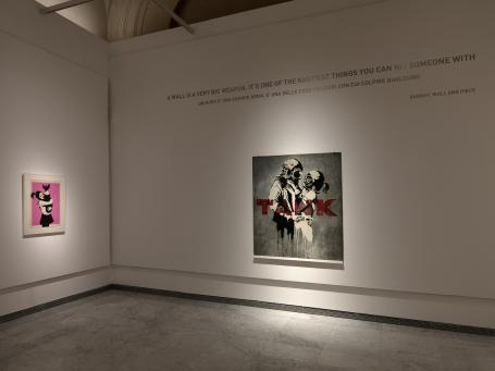 Banksy:Installation Picture 9