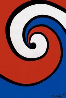 Alexander Calder:La Piste Blanc
