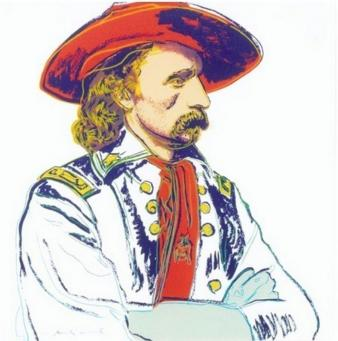 Andy Warhol:Cowboys and Indians: General Custer, F & S II.379