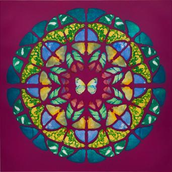 Damien Hirst:Sanctum (UP Purple)