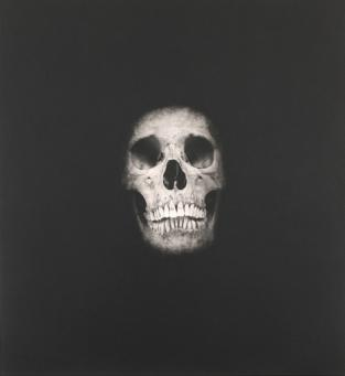 Damien Hirst:I Once Was What You Are, You Will Be What I Am (Skull 5)