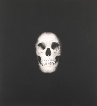 Damien Hirst:I Once Was What You Are, You Will Be What I Am (Skull 6)