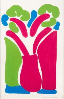 David Hockney:The Red Pot